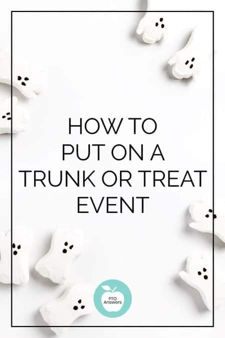 How to plan a Trunk or Treat