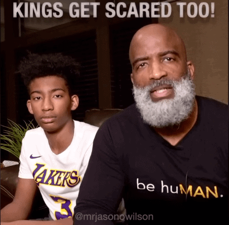 KINGS GET SCARED TOO!