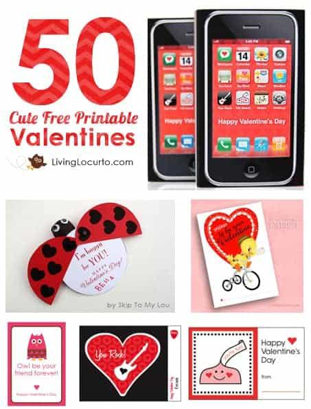 50-Free-Printable-Valentines