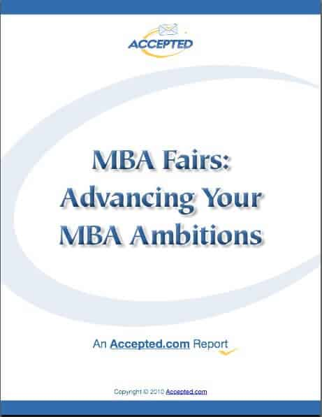 MBA Fairs Special Report