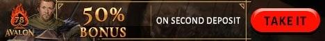 50% reload bonus offer