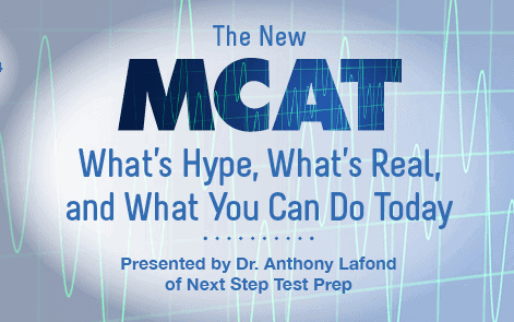 Check out The New MCAT webinar now to learn how you can ace the exam!