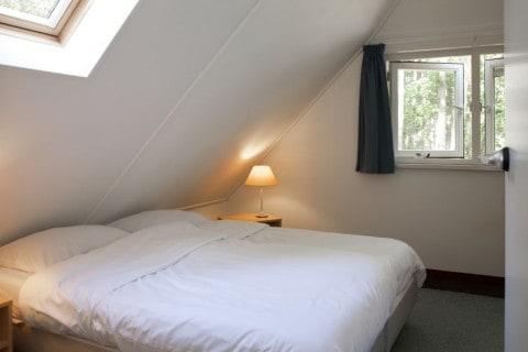 Bungalowpark Wildryck vakantiehuisje slaapkamer