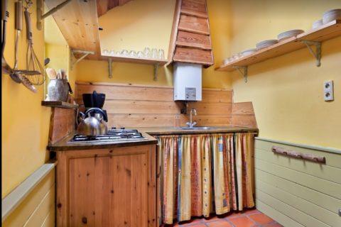Woudhuisje Keuken