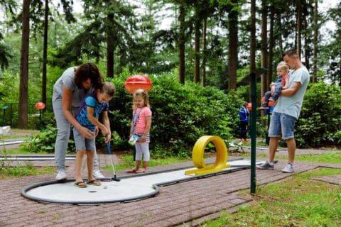 Rcn Roggeberg Vakantiepark Drents Friese Wold Midgetgolf