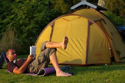 Camping Reeenwissel Tent Kamperen Drenthe