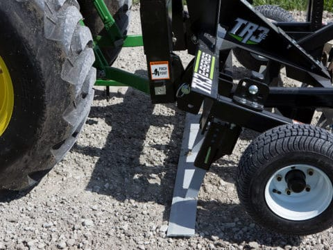 Small Tractor Tow Behind Driveway Grader Profile Blade