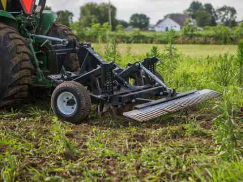 Small Tractor TR3 E-Series Property Edition Land Clearing Food Plot Preparation