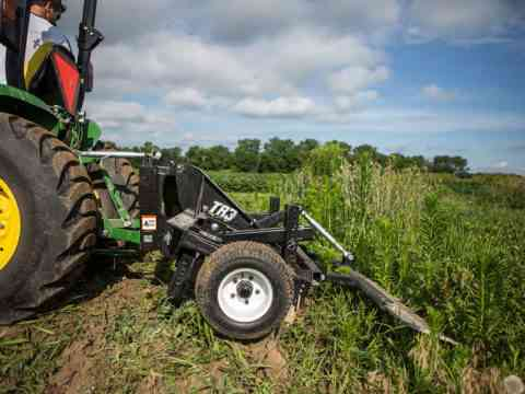 Small Tractor 3-Point Food Plot Preparation