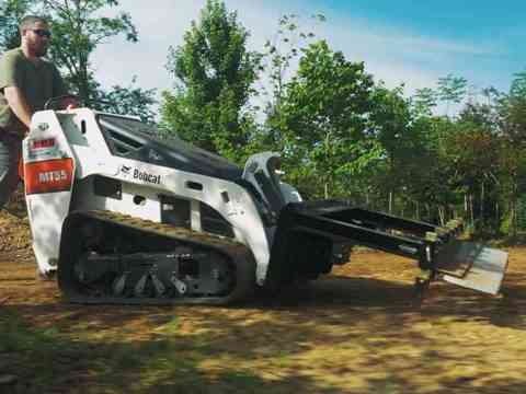 M1 Model Walk Behind Mini Skid Steer Attachments