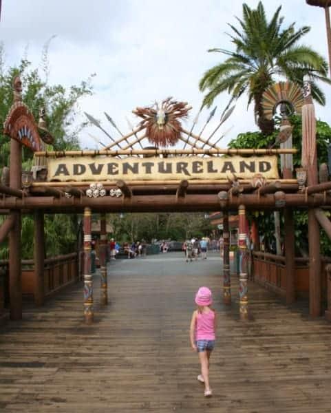 Walt Disney World, Magic Kingdom, Adventureland, magic kingdom with a toddler, magic kingdom with toddlers