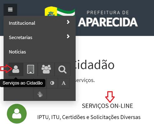 Consulta IPTU Aparecida de Goiânia 1