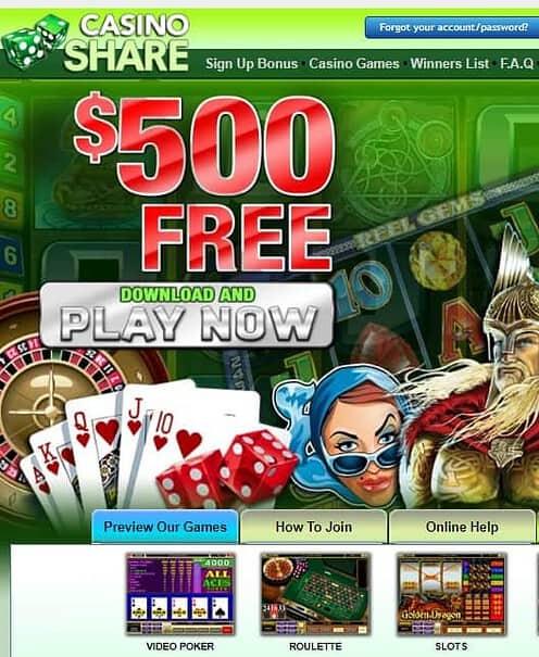 Share Casino Review
