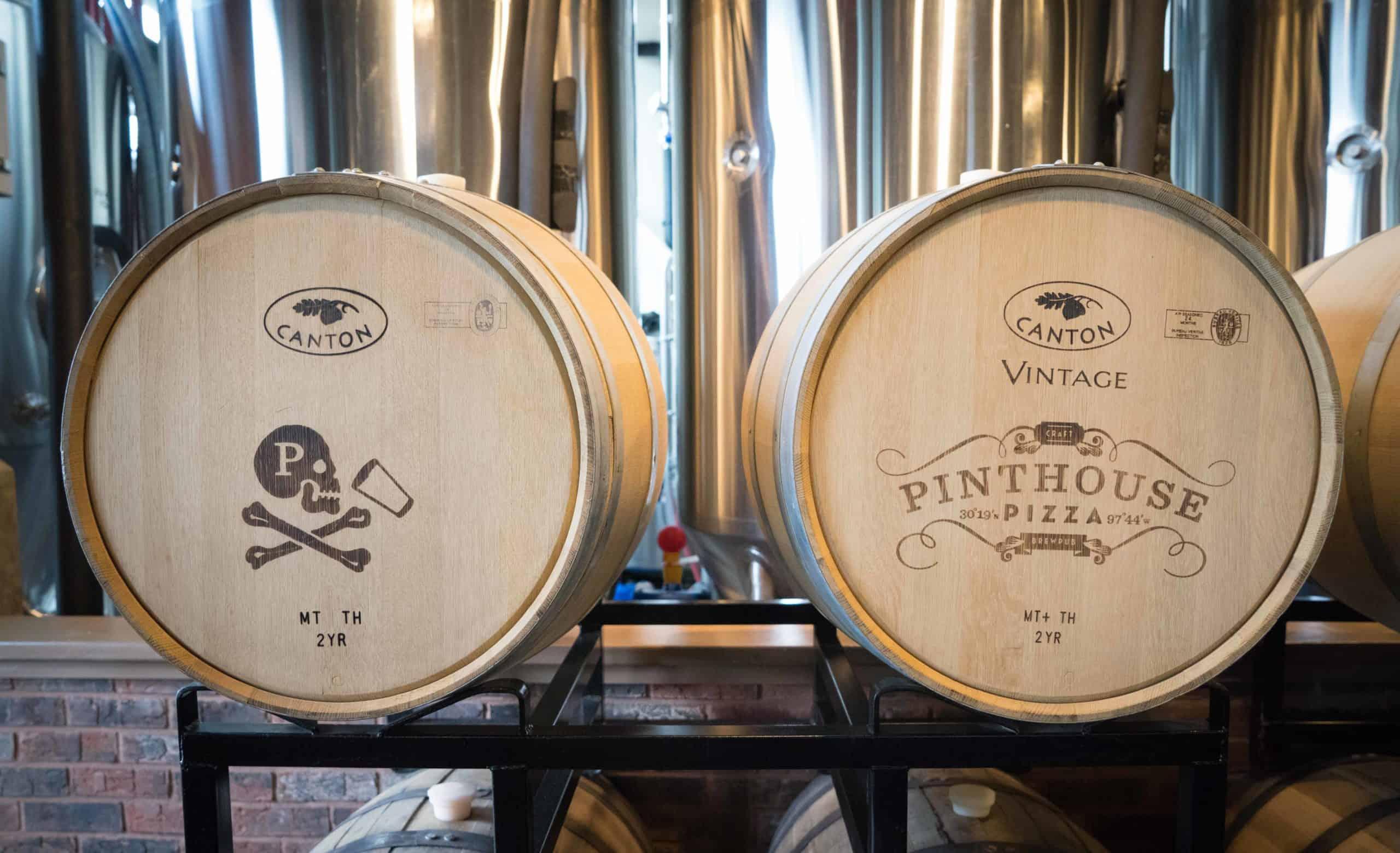 Pinthouse barrels