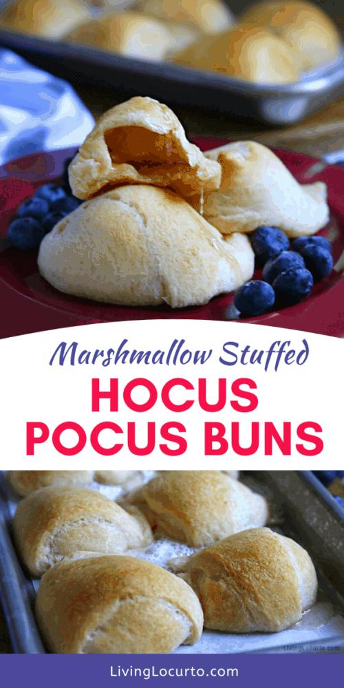 Hocus Pocus Buns Recipe - Easy Marshmallow Baked Crescent Rolls