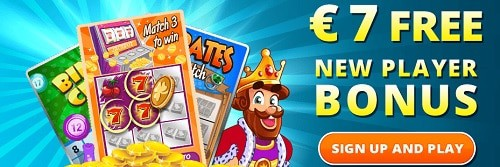 Collect your 7 EUR/USD/GBP free bonus!