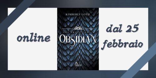 Segnalazione | Obsidian di Kimberly Loth