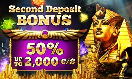 50% bonus up to 2,000 EUR