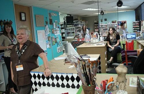 Michaels Headquarters Craft Room