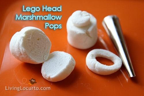 How to make Easy Lego Marshmallow Pops - Lego Birthday Party Idea Living Locurto