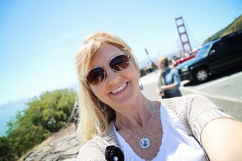 Golden Gate Bridge and Amy Locurto