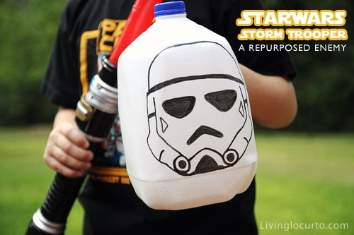 Fun Star Wars Repurposed Craft for Kids! LivingLocurto.com