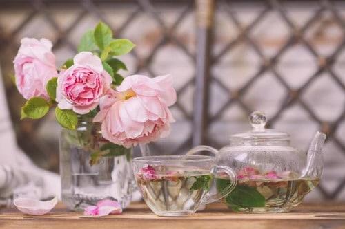 Trà hoa hồng sấy khô