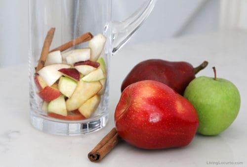 Apple Cider Fall Sangria Recipe Fruit Ingredients