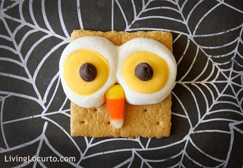 Halloween Owl S'mores