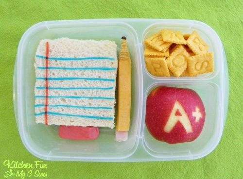 Cute Back to School Lunch Box Idea!