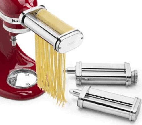3 Piece KitchenAid Pasta Roller Cutter Set