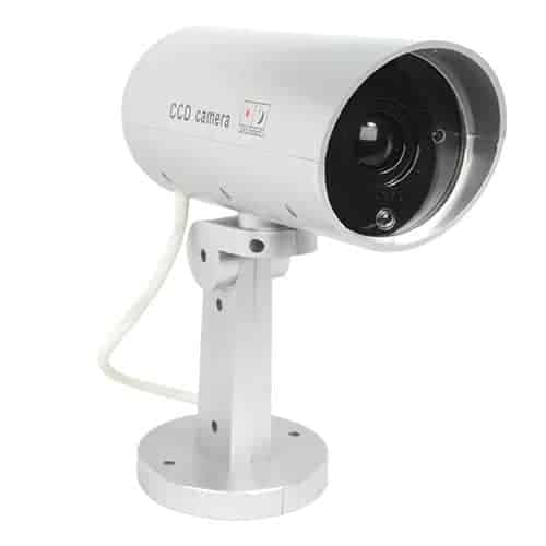 Motion Activated Dummy Camera With LED Front View