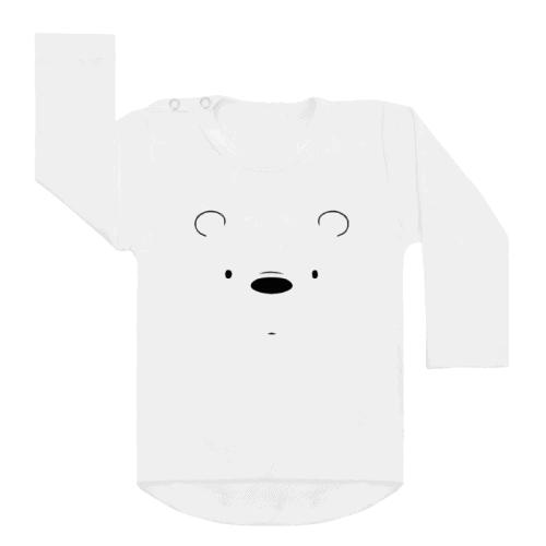 Shirt Polar Bear wit