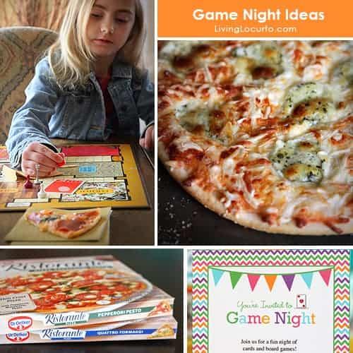 Simple Party Ideas for a Game Night! LivingLocurto.com