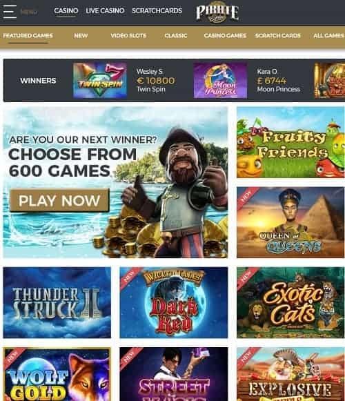 Piratespin Casino free spins bonus