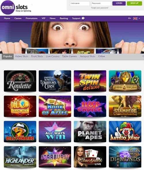 OmniSlots Casino Review