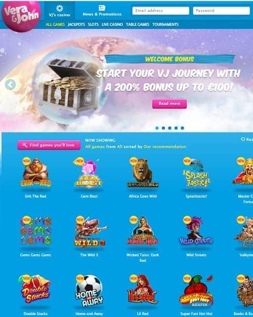 VeraJohn.com Casino Online