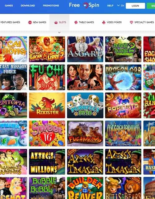 FreeSpinNew Casino Review