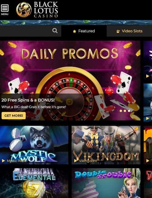 Black Lotus Casino Review