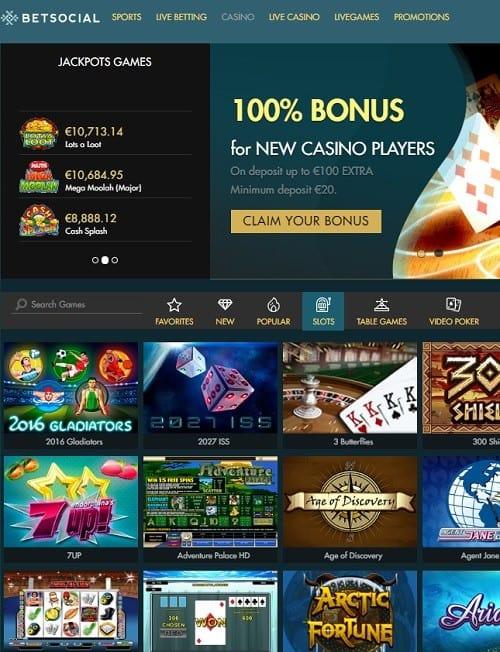 Betsocial Casino Review