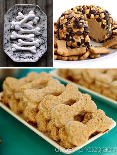 Bone Halloween Treats & Food Ideas for a Dog Party