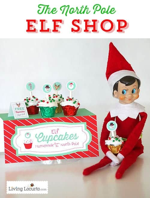 North Pole Elf Shop! Elf printables