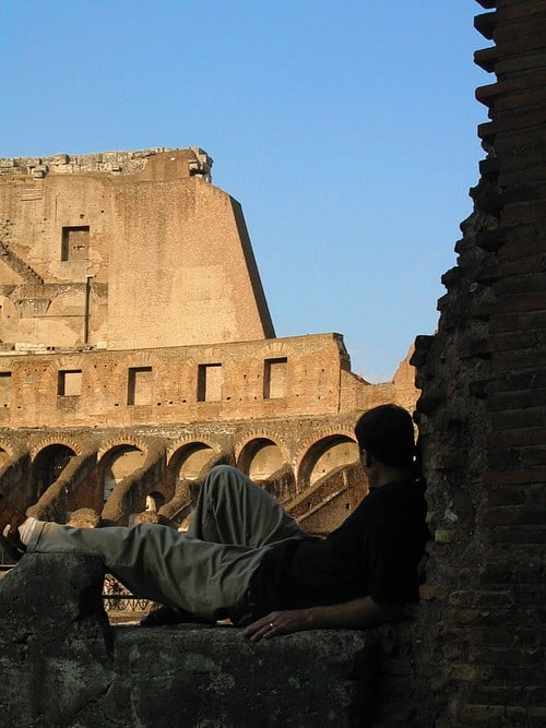 Romantic Vacation Ideas. Rome Colosseum Italy travel tips by LivingLocurto.com