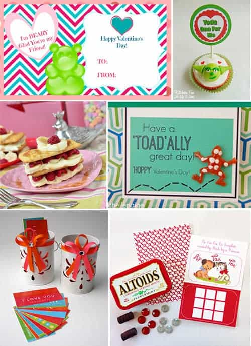10 DIY Valentines Day Free Printables and Crafts!