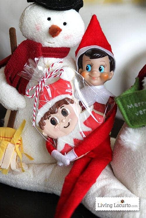Adorable Elf on the Shelf Cookies! LivingLocurto.com