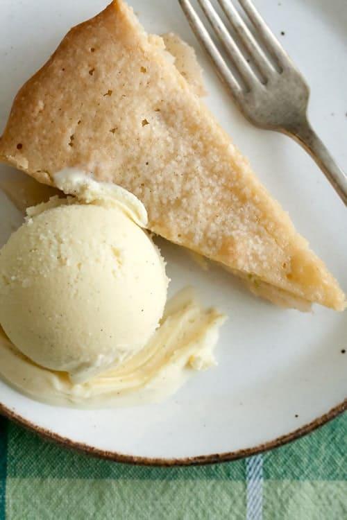Brown Butter Pear Tart