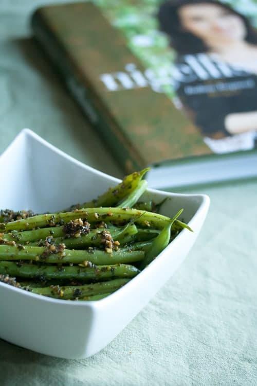 Nigella's Green Beans with Pistachio Pesto