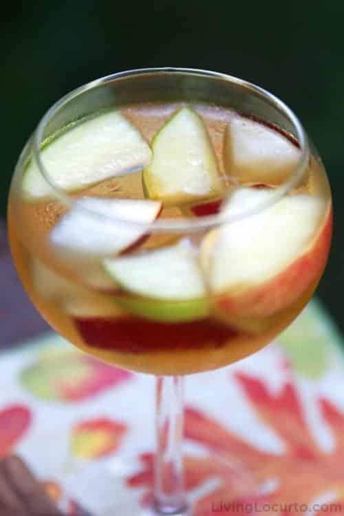 Fall Sangria Apple Cider Wine
