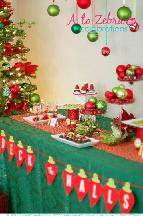 Easy Christmas Party Ideas | Living Locurto | Ornament Exchange Party