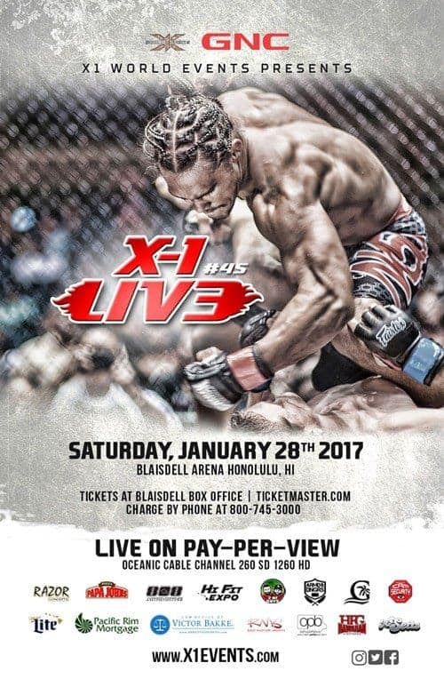 X1#45 : Live Fight Results